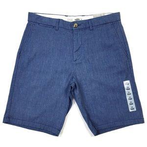 Old Navy Indigo Ultimate Slim Flex Shorts